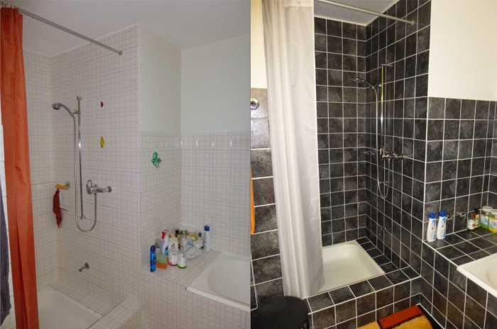 fliesenaufkleber f r k che u bad 15x20 cm von foliesen ebay. Black Bedroom Furniture Sets. Home Design Ideas